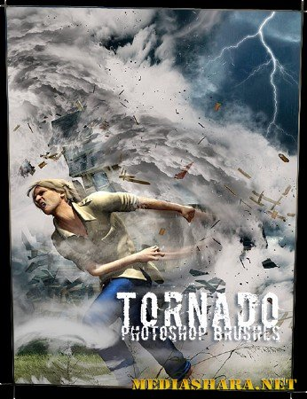 Кисти для Photoshop – Торнадо / Photoshop Brushes – Rons Tornado